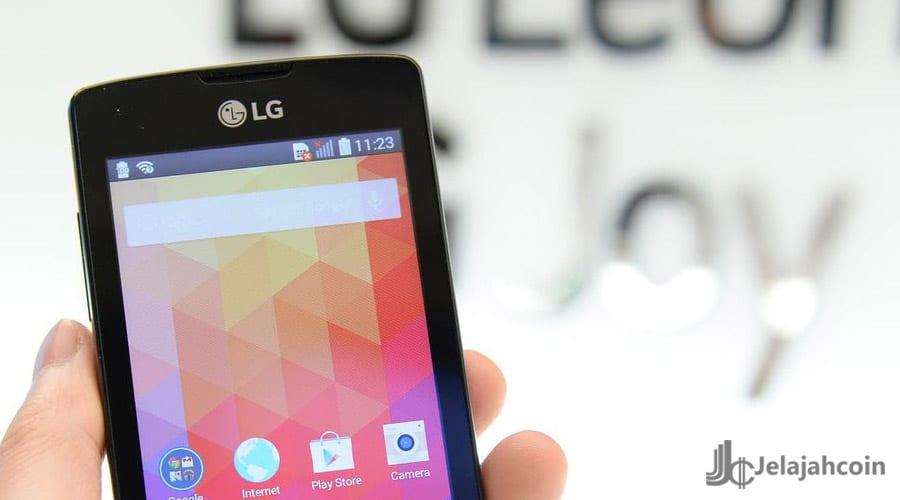 LG Konfirmasi Smartphone Berteknologi Blockchain-nya