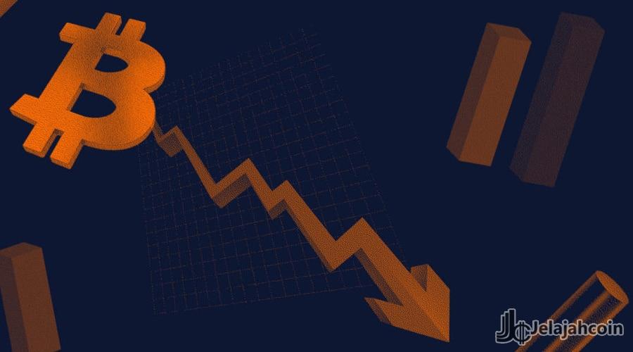 Harga Bitcoin Merosot Tajam Sampai $7120 Pada Minggu Ini