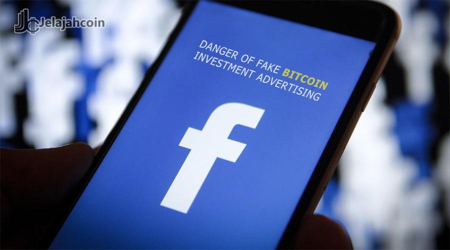 Facebook Diperintahkan Untuk Hapus Iklan Investasi Bitcoin Palsu