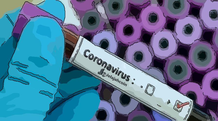 Virus Corona Membuat Pasar Bitcoin & Saham Menjadi Drop