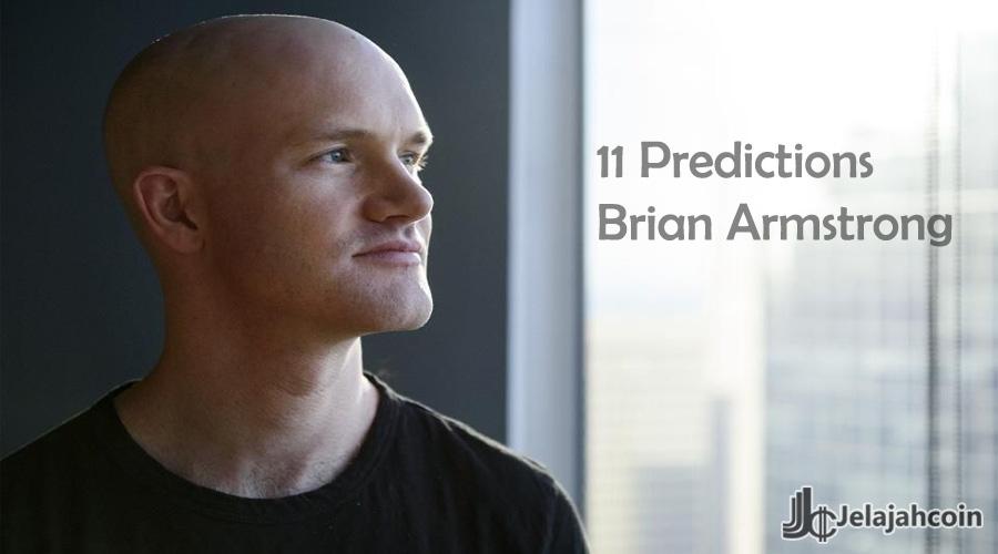 11 Prediksi CEO Coinbase Untuk Crypto di Tahun 2020