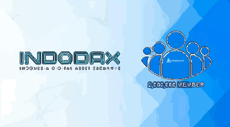 Indodax Berhasil Mencapai 2 Juta Member