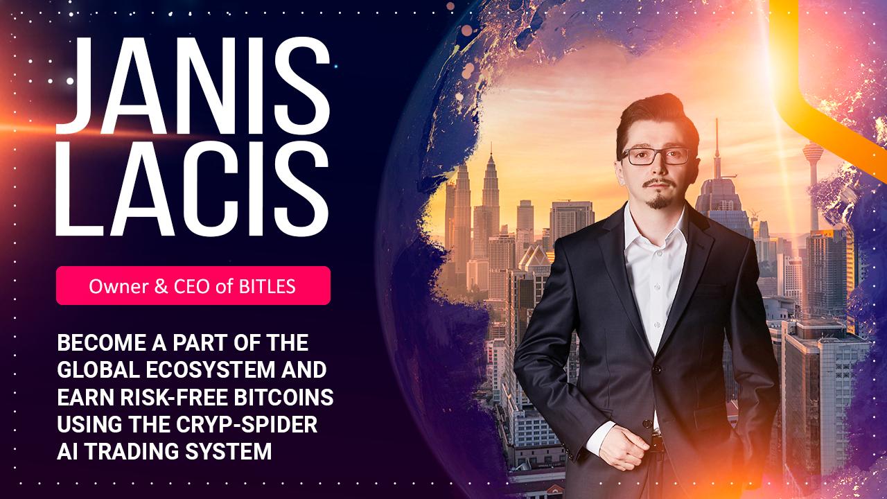 Jadilah Bagian Dari Ekosistem Global dan Raih Bitcoin Dengan Sistem Cryp-Spider AI Trading.