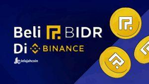 Cara Beli dan Transfer Bank BIDR Secara Instan, Khusus Pengguna Indonesia di Binance