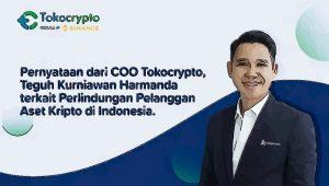 COO Tokocrypto Bicara Soal Perlindungan Pelanggan Aset Crypto di Indonesia