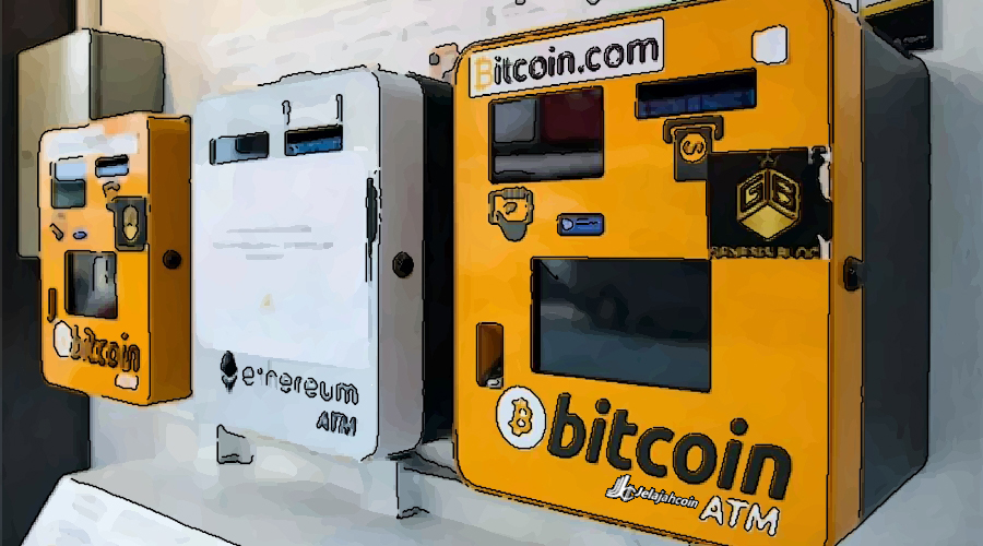 Wow! 10.000 ATM Bitcoin Telah Tersebar di Dunia